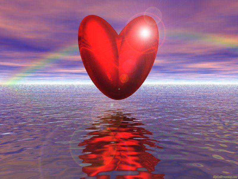 Fond ecran st valentin page 6 - Un coeur amoureux ...