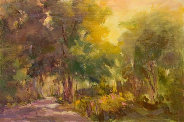 paysages peints