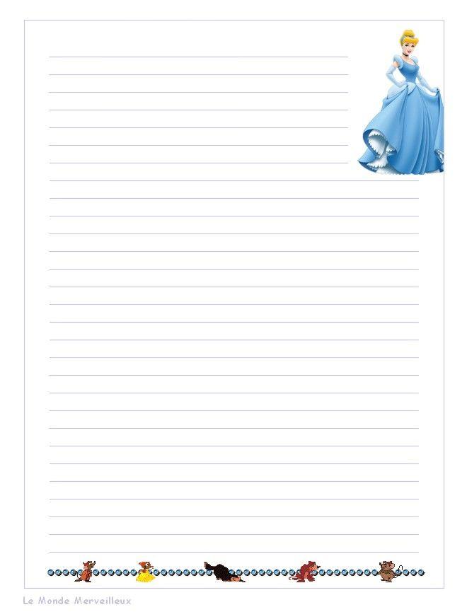 Papier a lettre decore a imprimer - Lettres a imprimer ...