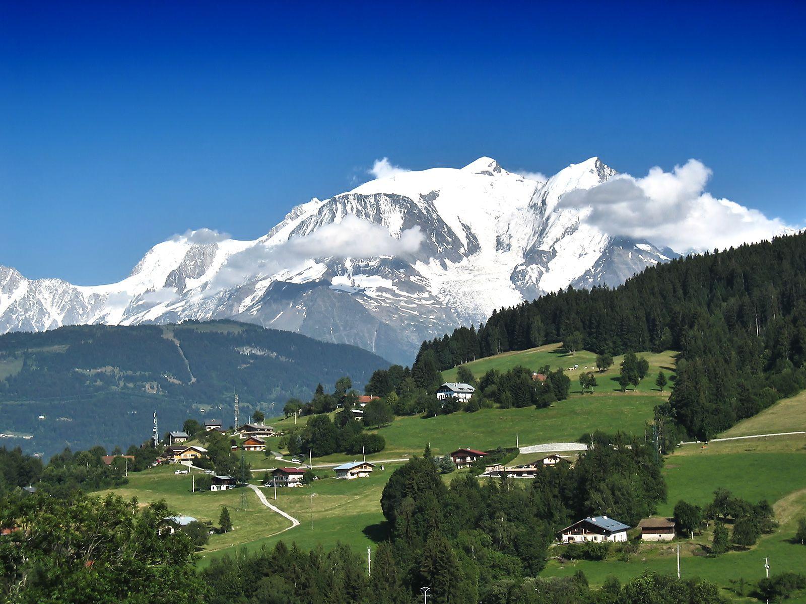 Fond Ecran Paysage Mont Blanc